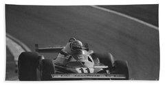 Niki Lauda. 1977 French Grand Prix Beach Sheet