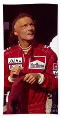 Niki Lauda. Marlboro Mclaren International Beach Towel