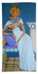Nile Nymph -- Cleopatra, #1 In Famous Flirts Series Beach Towel