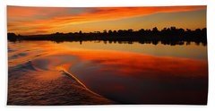 Nile Sunset Beach Towel