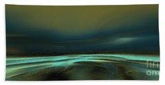 Nirvana 2 Beach Towel by Yul Olaivar