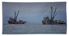Nita Dawn And Cape George Beach Sheet by Randy Hall