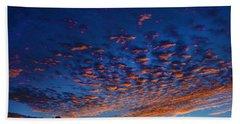 Nitrogen Sunrise Beach Sheet by Mark Blauhoefer