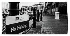 No Fishing Beach Sheet