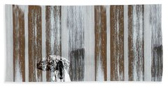 Beach Towel featuring the photograph No Rain Forest by LemonArt Photography
