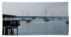 Beach Towel featuring the photograph No Wind by Greg Patzer