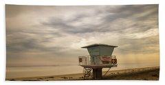No Wood Fires At San Elijo Beach Beach Towel