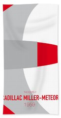 No015 My Ghostbusters Minimal Movie Car Poster Beach Towel