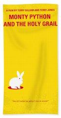 Burmese Python Beach Towels