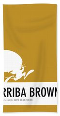No08 My Minimal Color Code Poster Speedy Beach Towel