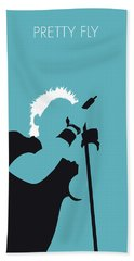 No095 My The Offspring Minimal Music Poster Beach Towel