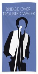 No098 My Art Garfunkel Minimal Music Poster Beach Towel