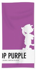 No11 My Minimal Color Code Poster Top Cat Beach Towel