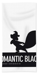 No13 My Minimal Color Code Poster Pepe Le Pew Beach Towel