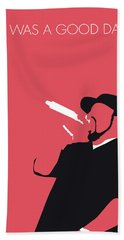 No132 My Ice Cube Minimal Music Poster Beach Towel