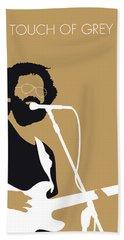 No140 My Grateful Dead Minimal Music Poster Beach Towel