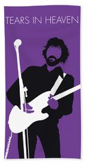 No141 My Eric Clapton Minimal Music Poster Beach Towel