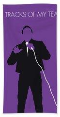 No161 My Smokey Robinson Minimal Music Poster Beach Towel