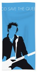 No169 My Sex Pistols Minimal Music Poster Beach Towel