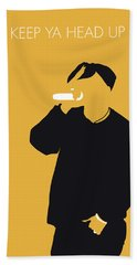 No204 My 2pac Minimal Music Poster Beach Towel