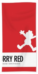 No30 My Minimal Color Code Poster Elmo Beach Towel