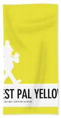 No31 My Minimal Color Code Poster Bert Beach Towel