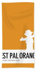 No32 My Minimal Color Code Poster Ernie Beach Towel