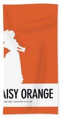 No35 My Minimal Color Code Poster Princess Daisy Beach Towel