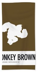 No37 My Minimal Color Code Poster Donkey Kong Beach Towel