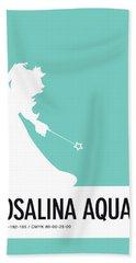 No39 My Minimal Color Code Poster Rosalina Beach Towel