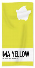 No40 My Minimal Color Code Poster Luma Beach Towel