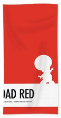 No41 My Minimal Color Code Poster Toad Beach Towel