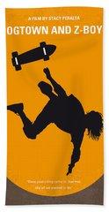 No450 My Dogtown And Z-boys Minimal Movie Poster Beach Towel