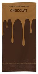 No567 My Chocolat Minimal Movie Poster Beach Towel