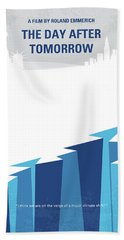 No651 My The Day After Tomorrow Minimal Movie Poster Beach Towel