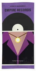 Beach Towel featuring the digital art No750 My Empire Records Minimal Movie Poster by Chungkong Art