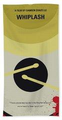 No761 My Whiplash Minimal Movie Poster Beach Towel by Chungkong Art