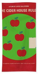 No807 My The Cider House Rules Minimal Movie Poster Beach Towel
