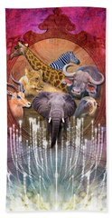 Noble Creatures Beach Towel