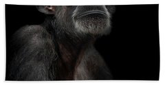 Chimpanzee Beach Towels