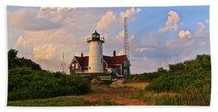 Nobska Lighthouse Beach Towel