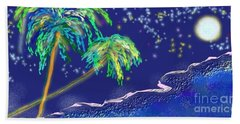 Noche Tropical Beach Towel