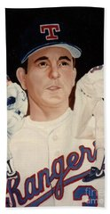 Nolan Ryan Medley Beach Towel