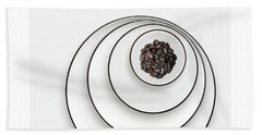 Beach Sheet featuring the photograph Nonconcentric Dishware And Coffee by Joe Bonita