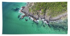 Beach Towel featuring the photograph Noosa National Park by Keiran Lusk