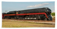Norfolk And Western J-class 611 Beach Towel by John Black