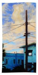 Normal Ave Beach Towel by Andrew Danielsen