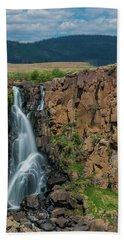 North Clear Creek Falls, Creede, Colorado Beach Towel