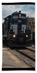 Conway Scenic Railroad - New Hampshire Beach Towel by Suzanne Gaff