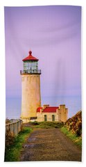 Beach Towel featuring the photograph North Head Lighthouse by Bryan Carter
